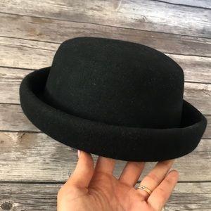 TopShop Black Wool Hat